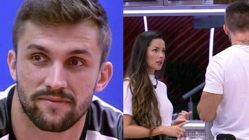 """BBB21: Arthur revela motivo de não ter conversado com Carla Diaz após Prova do Líder: """"Trocando altas ideias"""""""