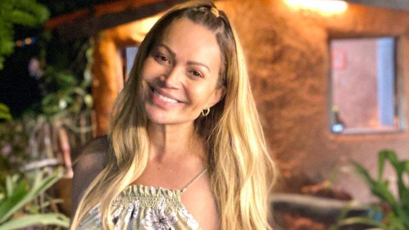 Solange Almeida promete emprestar vestido de casamento