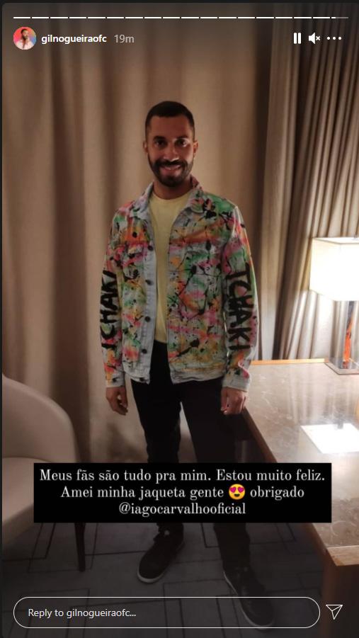 Gilberto, o Gil do Vigor do BBB21