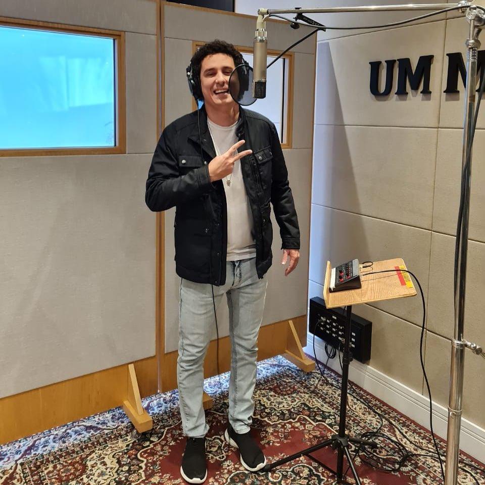 Rafael Portugal gravando novo EP