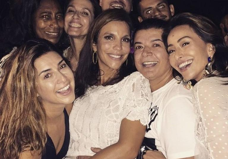 Ivete Sangalo comemora aniversário com festão na Bahia!