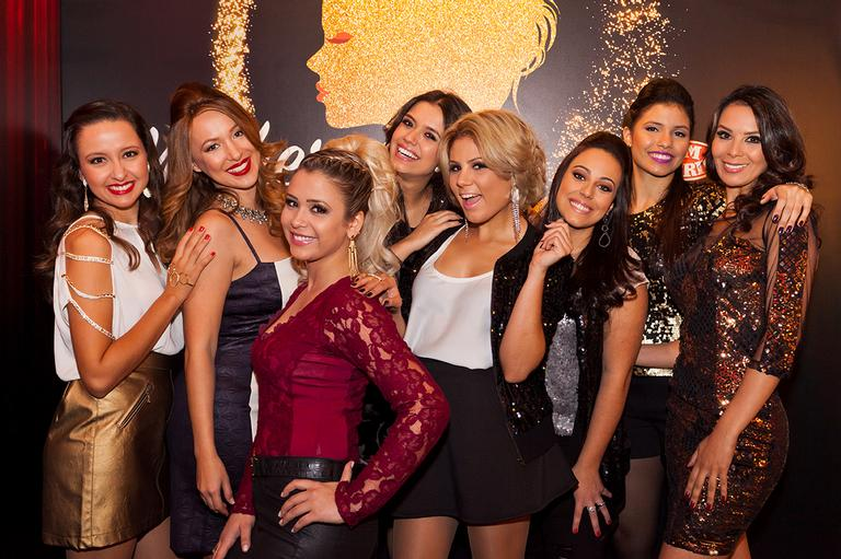 Juh Batista, Angélica Porto, Lilica Gomez, Paula Bressann, Angelica Kerr, Ju Verardi e Danielle Dias.