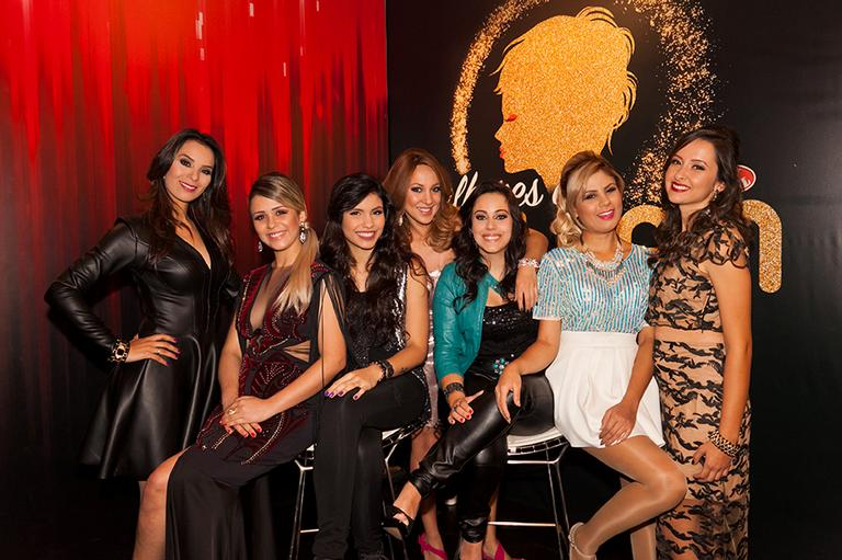 Angélica Porto, Angélica Kerr, Danielle Dias, Paula Bressann, eliminada do dia, Ju Verardi, Lilica Gomes e Juh Batista