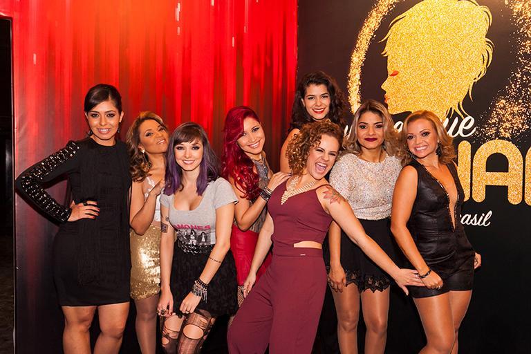 Lorena Pimentel, Carla Maués, Gabi Mello, Jessie Vic, Thaís Fonseca, Nay Carvalho, Lu Bahia e Amanda Mattos