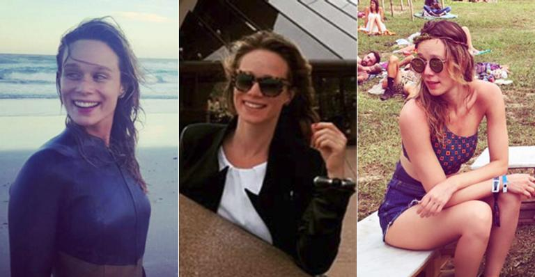 Mariana Ximenes curte férias na Austrália
