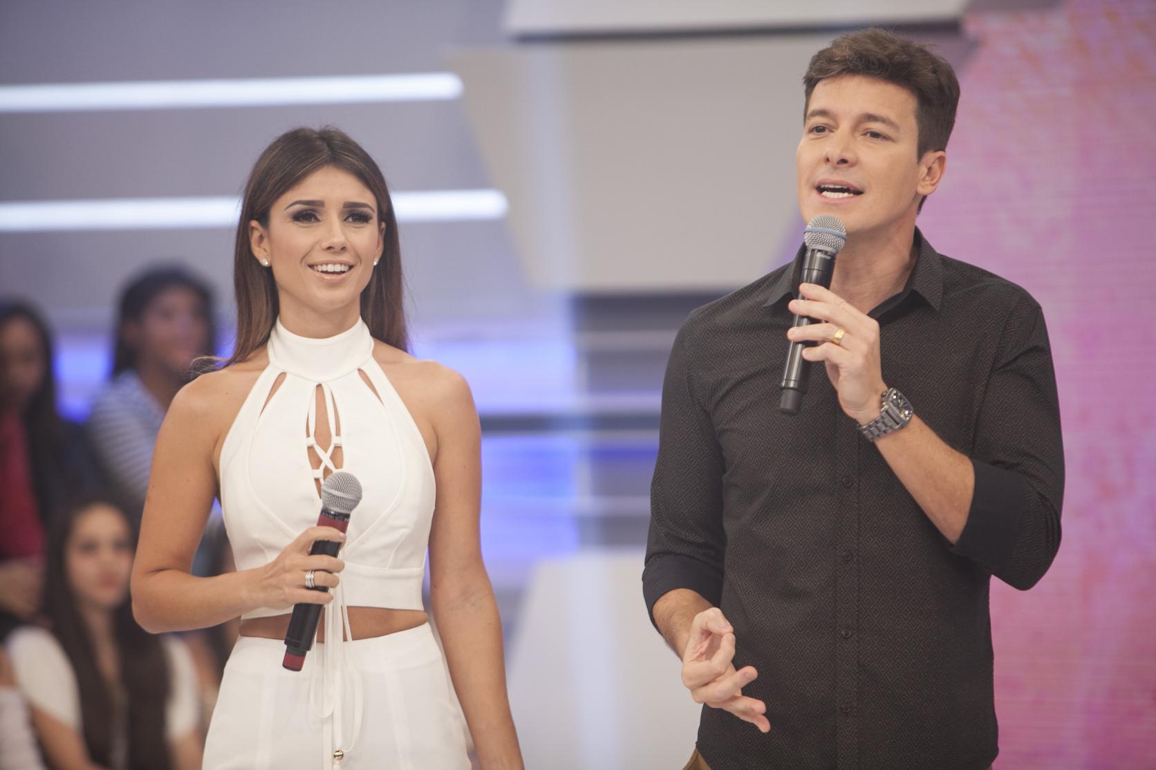 Cantora participou de atração comandada por Rodrigo Faro