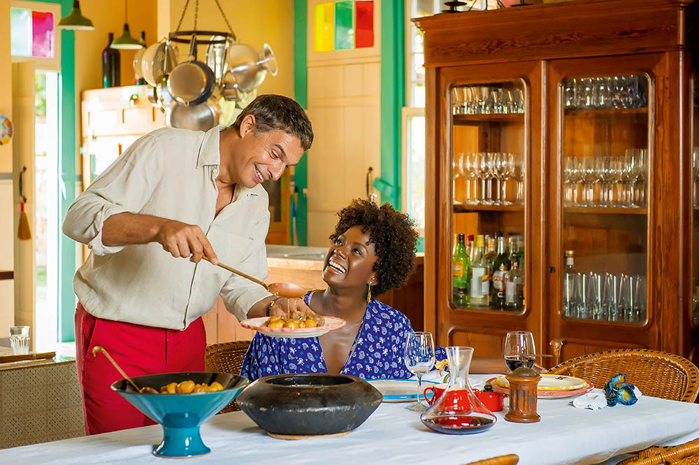 Olivier Anquier e Adriana Alves
