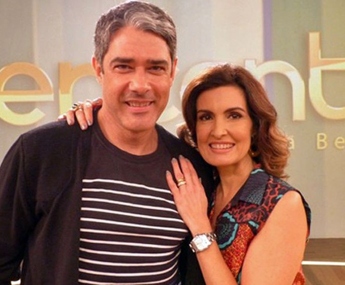 Resultado de imagem para Bonner e Fátima Bernardes anunciam fim do casamento de 26 anos