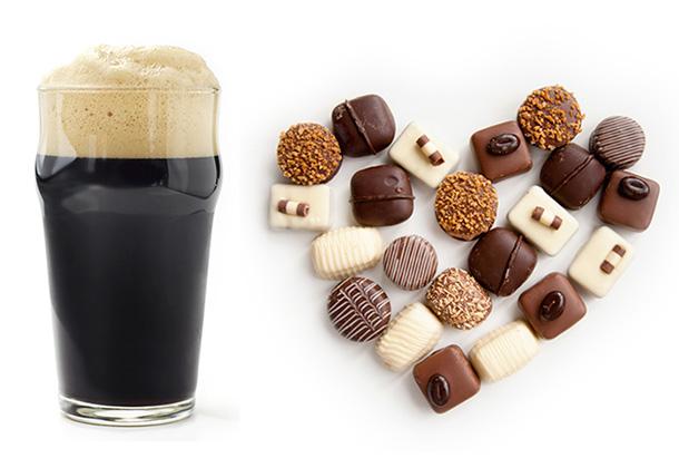 Cerveja com chocolate?