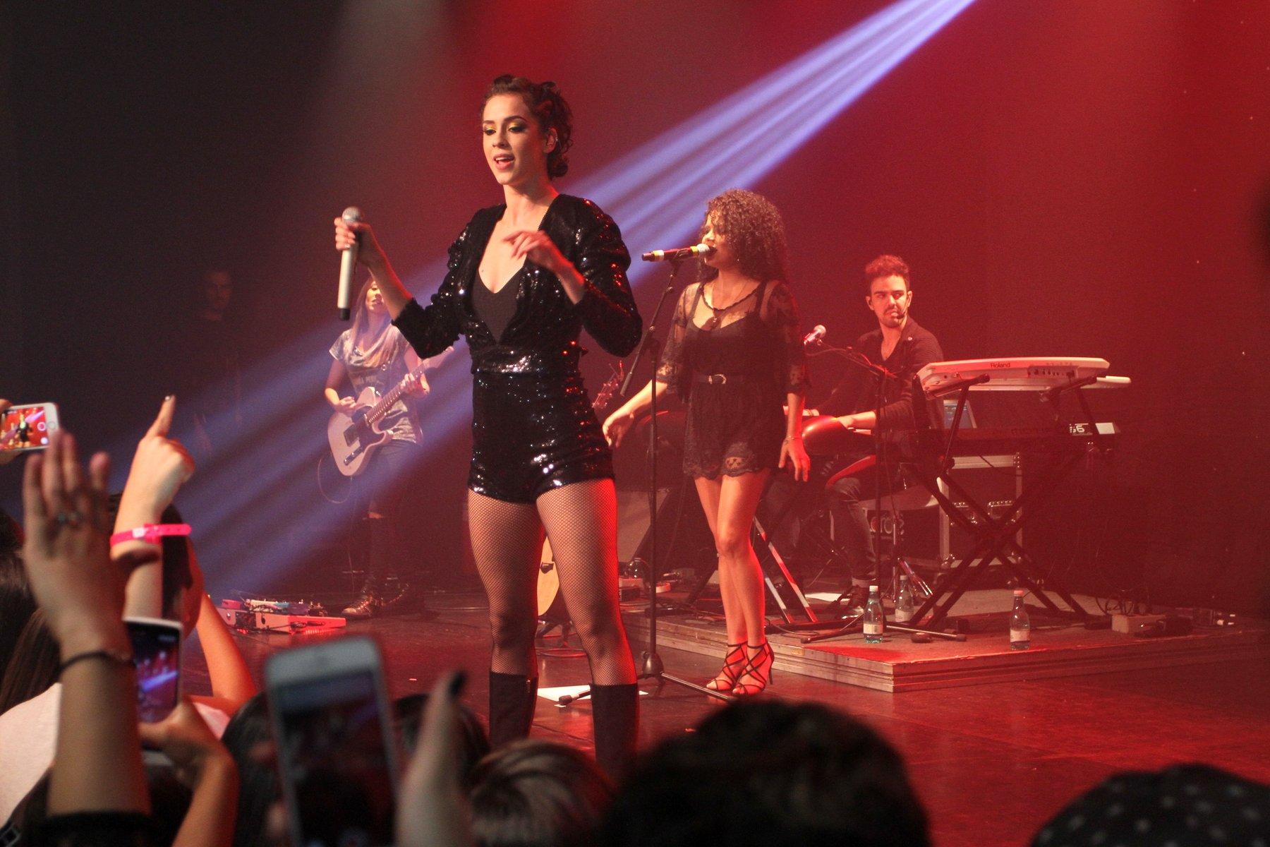 Sophia Abrahão em show no Rio de Janeiro