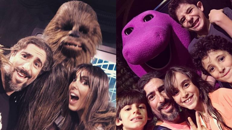 As férias da família de Marcos Mion