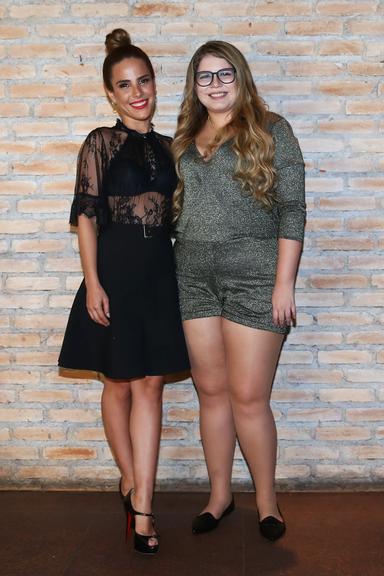 ccf95500a Marília Mendonça e Wanessa lançam coleção de lingerie (Foto  Manuela  Scarpa Brasil News)