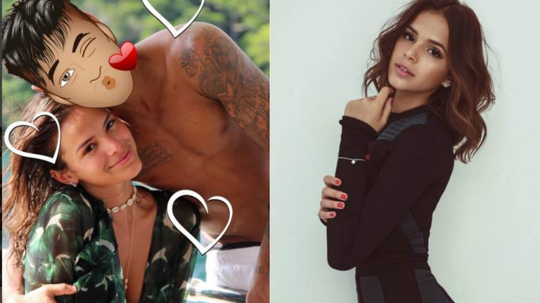 Bruna Marquezine assume volta com Neymar Jr.