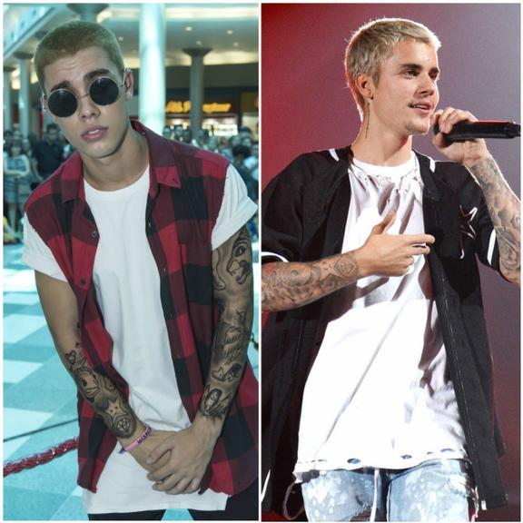 Cover de Bieber faz sucesso em São Paulo