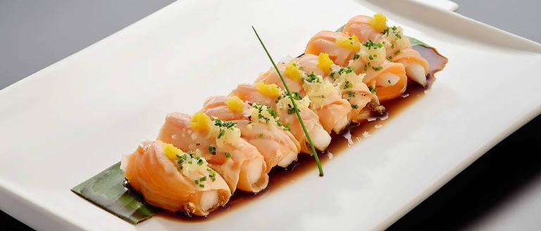 A combinação de sabores é do restaurante Bushido Lounge, de São Paulo