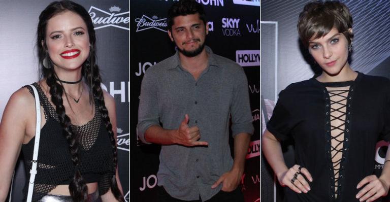 Sem presença de Bieber, famosos curtem after party após show no Rio