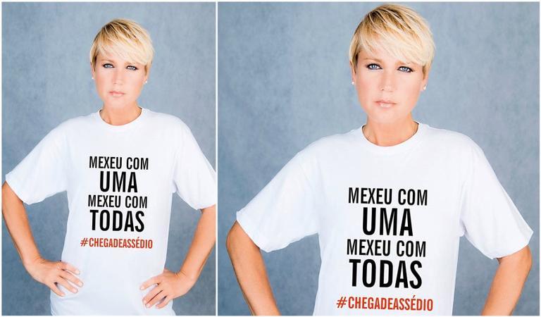 Xuxa apóia #MexeuComUmaMexeuComTodas