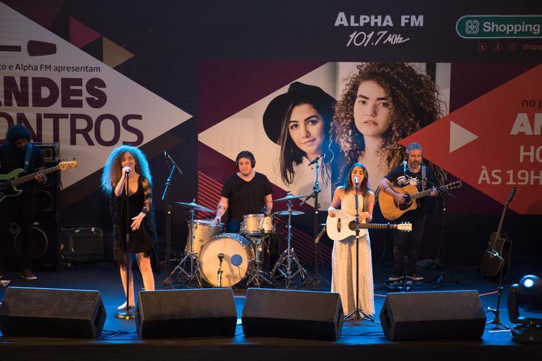 A apresentação aconteceu no Shopping Anália Franco, na Zona Leste de São Paulo