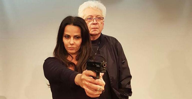 A atriz viverá uma bandida na peça 'Lili Carabina, a Estrela do Crime'