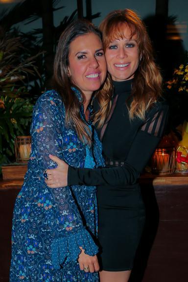 Mariana Ximenes prestigia evento da chef Morena Leite