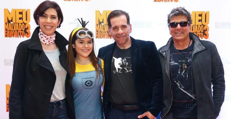 A sessão vip de cinema também contou com a presença de Evandro Mesquita, Leandro Hassum, Maria Clara Gueiros, Mirella Santos, Priscilla Alcantara e Fernanda Concon