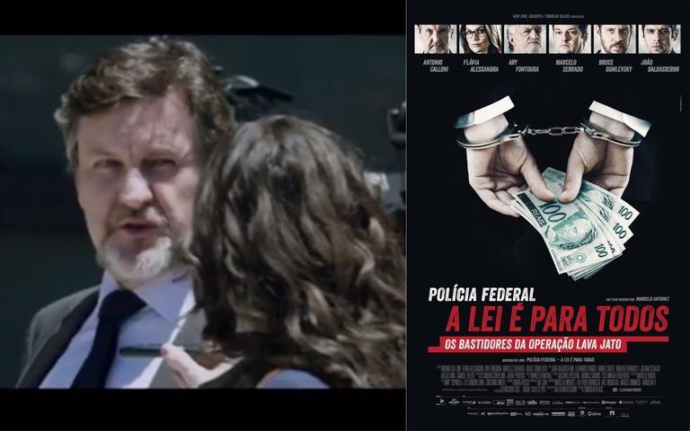 Confira o primeiro trailer do filme da Lava Jato