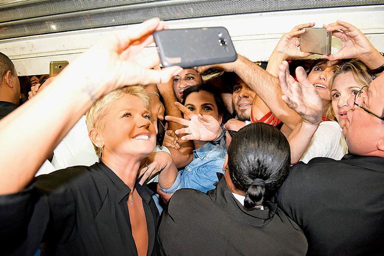 Xuxa: a rainha das selfies
