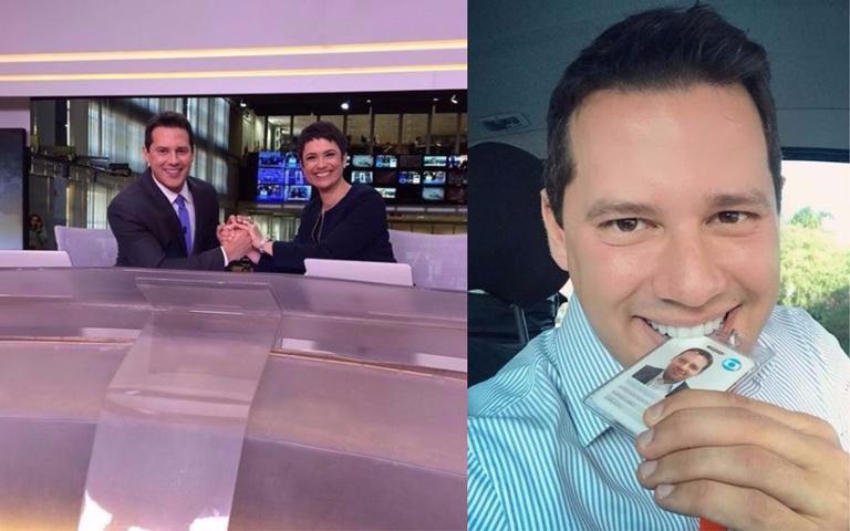 Dony De Nuccio estreia no Jornal Hoje