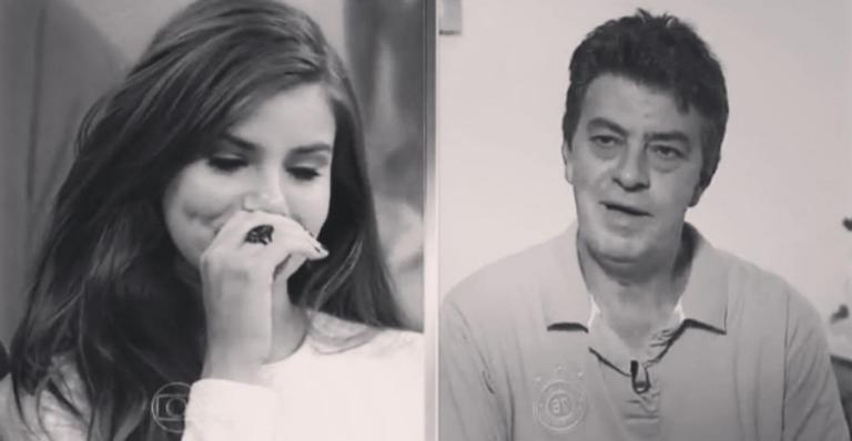 Camila Queiroz faz homenagem ao pai, Sérgio Queiroz: