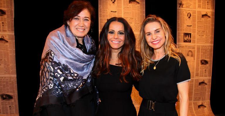 Lília Cabral, Viviane Araújo e Paula Burlamaqui