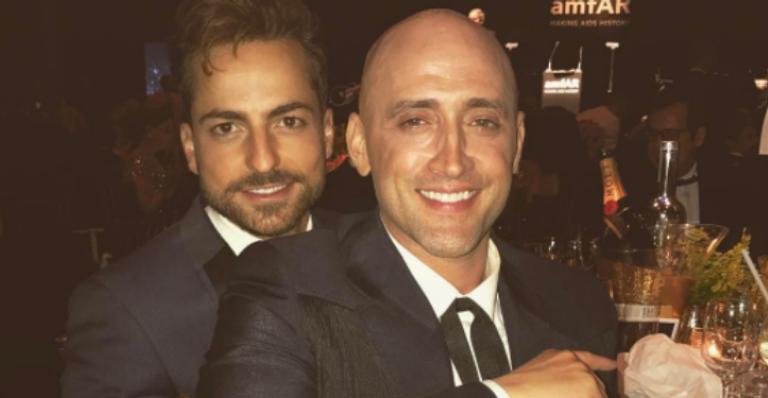 Paulo Gustavo e o marido sofrem ataque homofóbico na internet | <i>Crédito: Reprodução Instagram