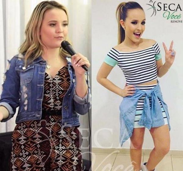 Mayra Cardi posta foto do antes e depois de Larissa Manoela   Contigo! e79c50ac19