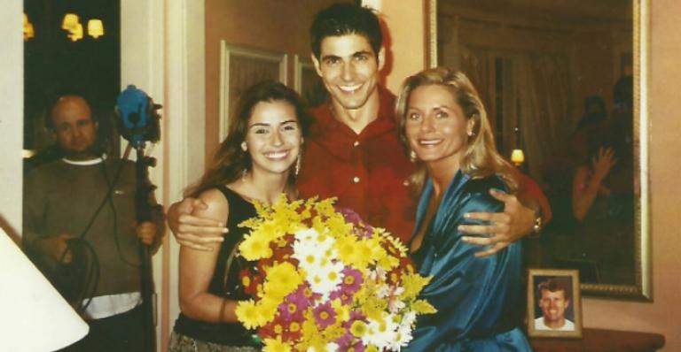 Giovanna Antonelli, Reynaldo Gianecchini e Vera Fischer | <i>Crédito: Reprodução Instagram