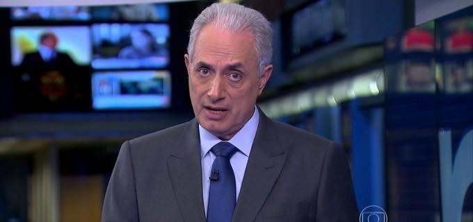 William Waack é afastado da Globo após comentário racista
