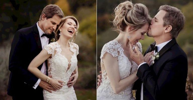 Casal trocou alianças em uma cerimônia íntima realizada na Itália
