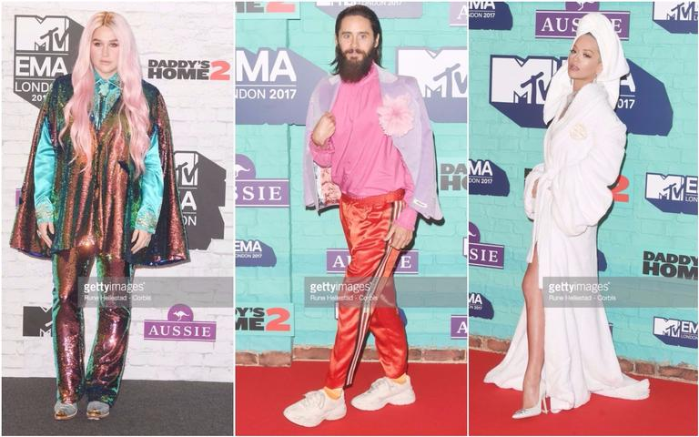 Confira os looks polêmicos do MTV European Music Awards