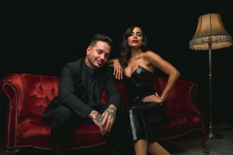 Anitta e JBalvin | <i>Crédito: Divulgação