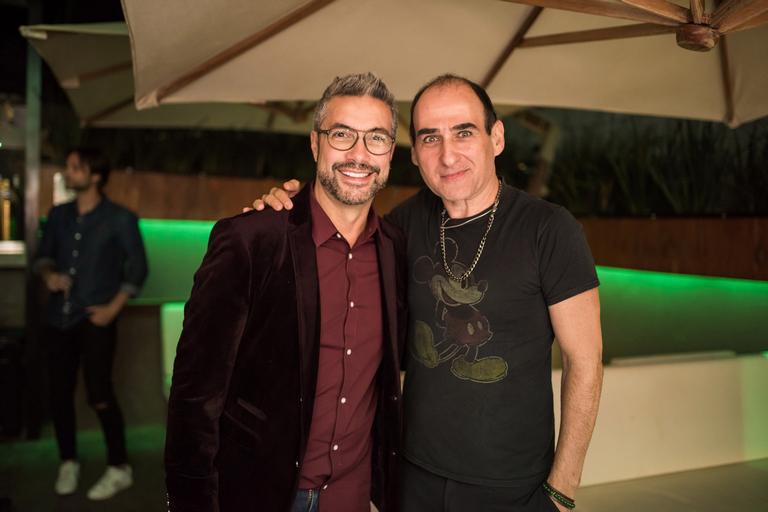 Fernando Torquatto e Amir Slama
