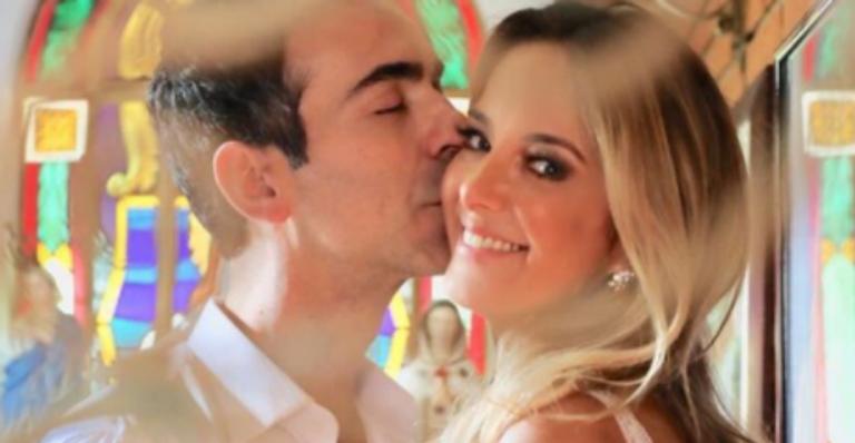 Ticiane Pinheiro e Cesar Tralli já estão casados!
