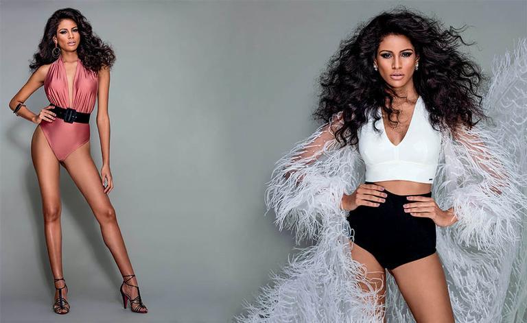 Monalysa Alcântara mostra com exclusividade seu traje típico para o Miss Universo