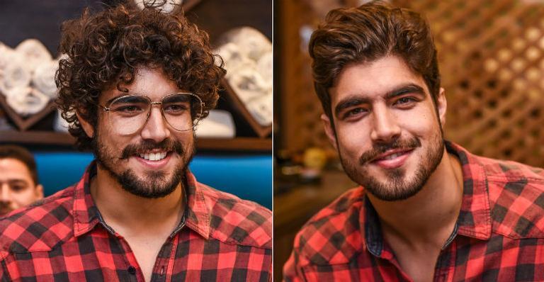 Caio Castro muda o visual e abandona os cachos | <i>Crédito: Wanderson Lopes/Divulgação