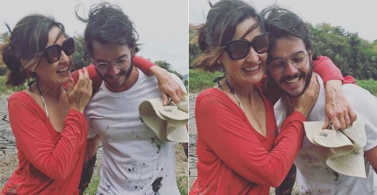 Fátima Bernardes ganha declaração romântica do novo namorado