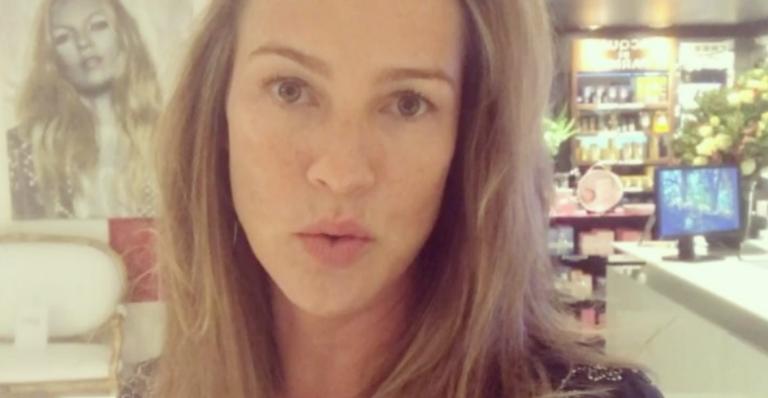 Luana Piovani critica rótulo de 'homão' de Rodrigo Hilbert | <i>Crédito: Reprodução Instagram