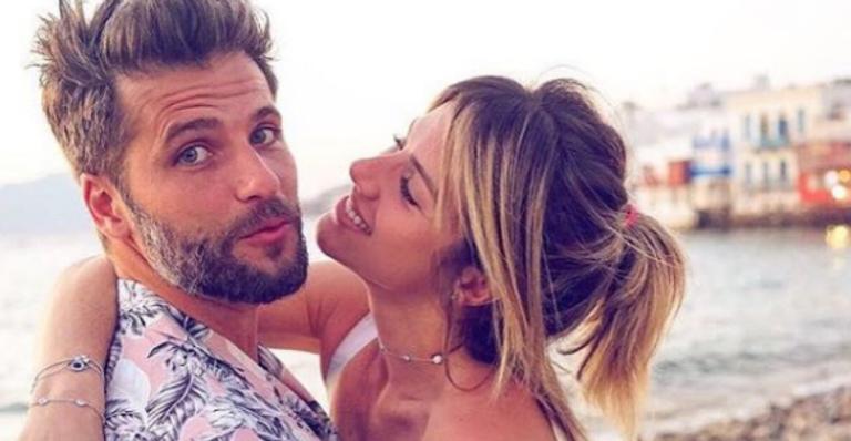 Bruno Gagliasso recebe declaração de amor de Giovanna Ewbank