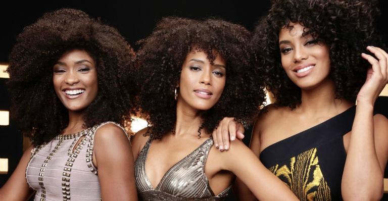 Erika Januza, Taís Araújo e Raissa Santana exaltam a beleza de seus cachos