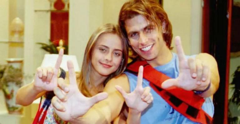 Ator protagonizou a trama teen em 2002, ao lado de Juliana Silveira