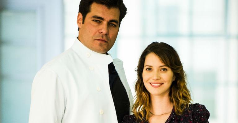 Nathalia Dill e Thiago Lacerda | <i>Crédito: TV GLOBO / João Miguel Júnior