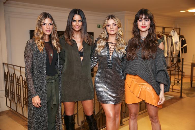 Thaila Ayala, Fernanda Motta e outras celebridades participam de evento de moda