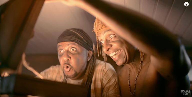 Tchakabum lança clipe de Tesouro de Pirata