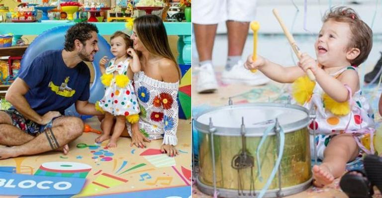 Rafa Brites e Felipe Andreoli festejam primeiro ano do filho